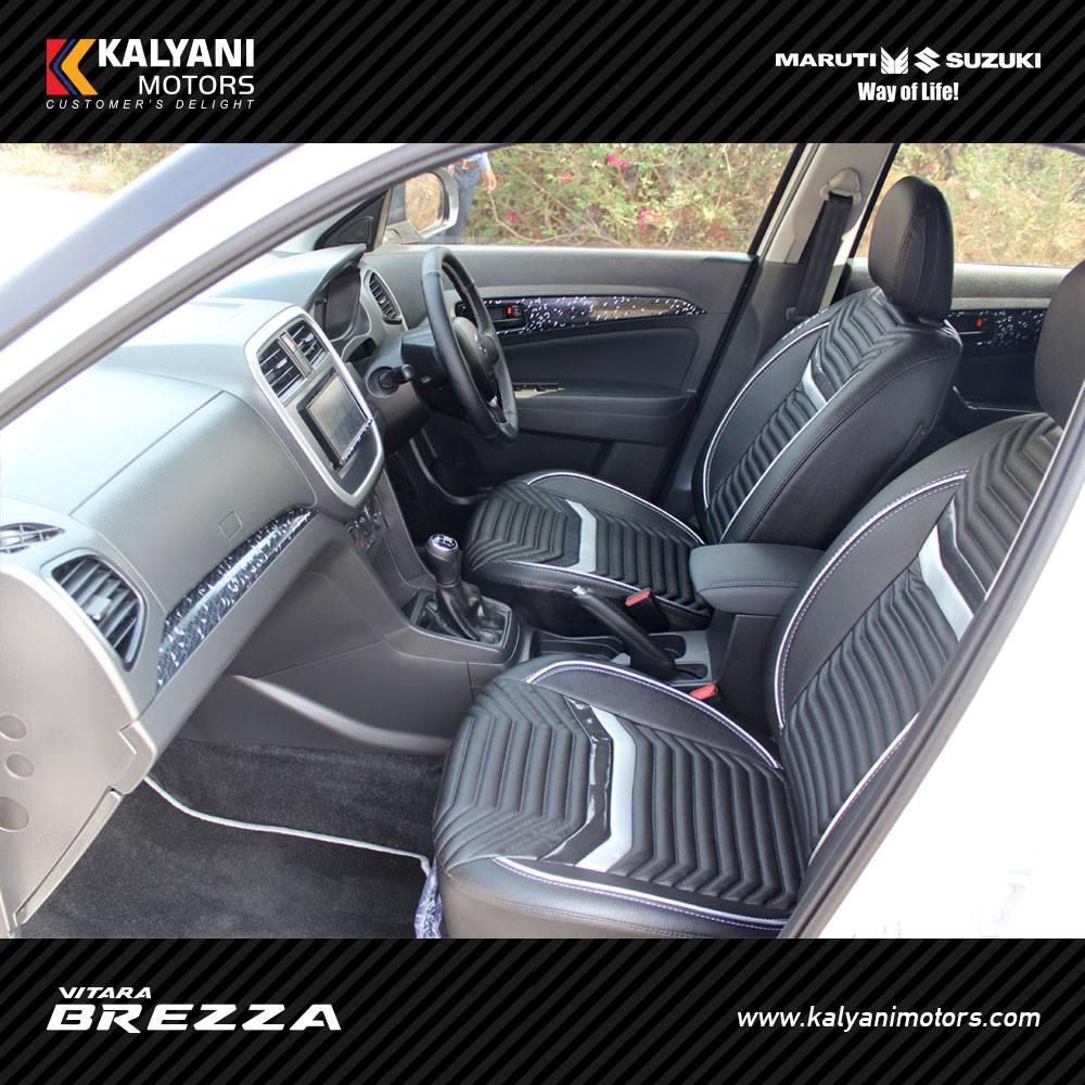 Maruti Vitara Brezza Limited Edition by Kalyani Motors interior