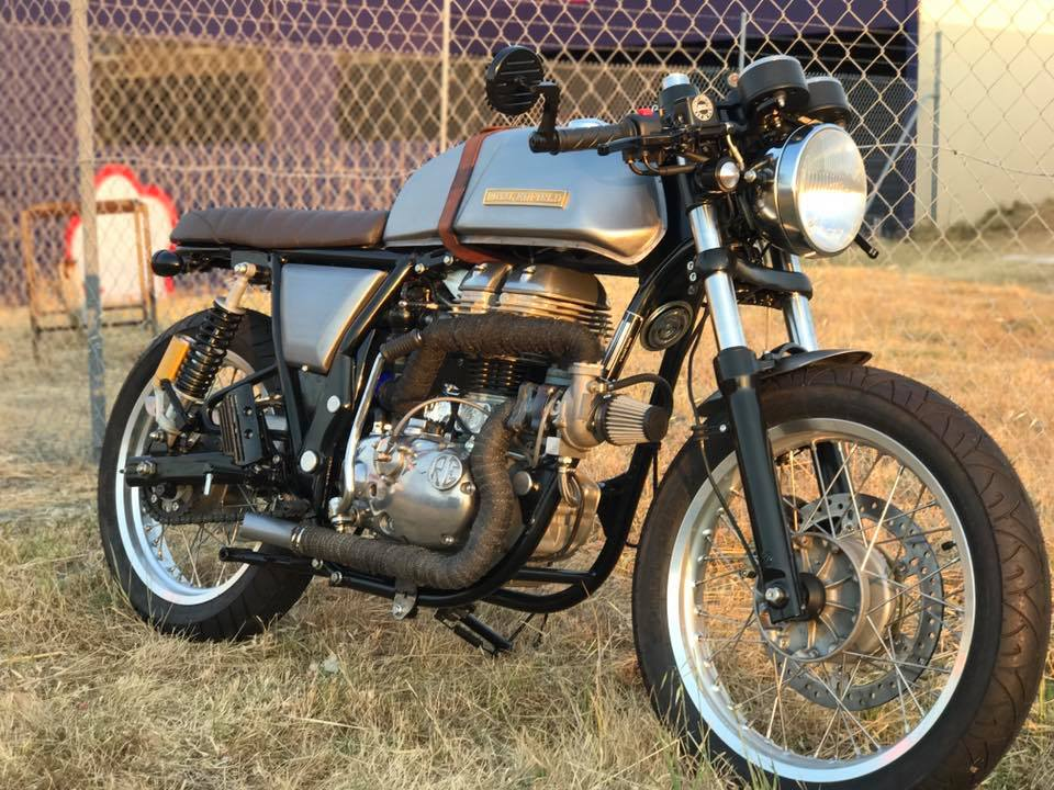 Turbocharged Royal Enfield Continental Gt T Has 2x The Torque