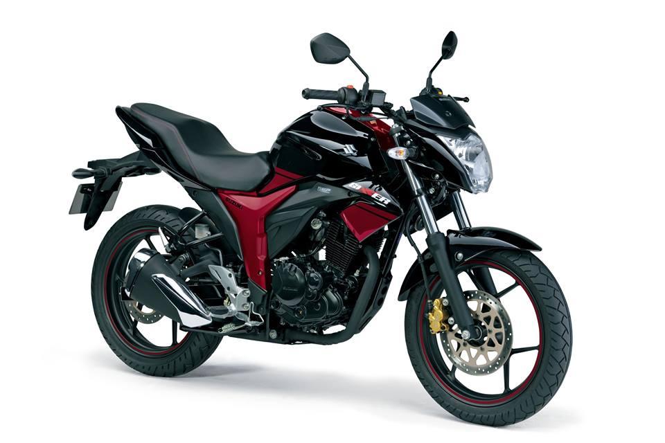 Suzuki Gixxer Black Red