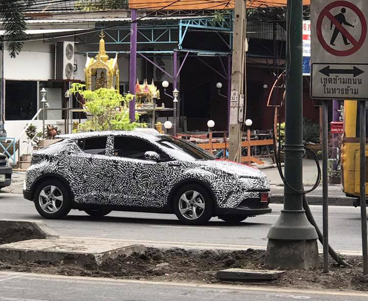 Thailand Spec Toyota C HR Testing Before Year End Or 2018 Launch