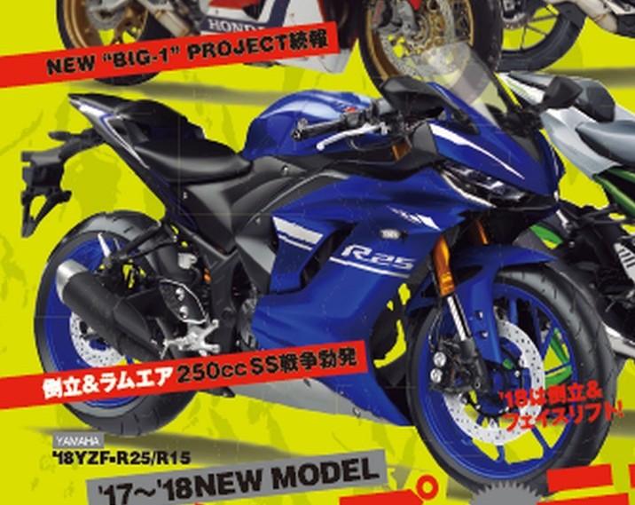 2017 Yamaha R25 rendering