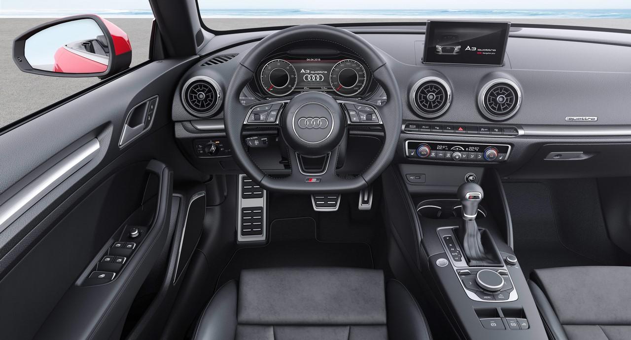2017 Audi A3 Cabriolet dashboard driver side