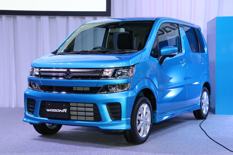 2017 Suzuki Wagon R Hybrid FZ front three quarters