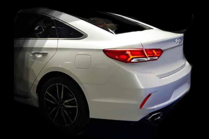 2018 Hyundai Sonata (facelift) rear fascia rendering