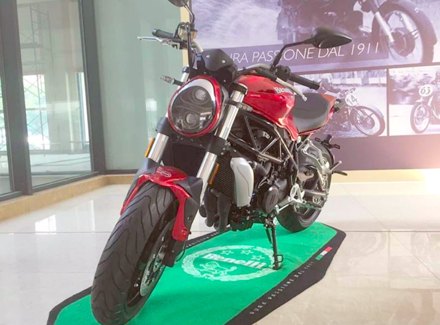Benelli Single Cylinder Bike Launch at Auto Expo 2018