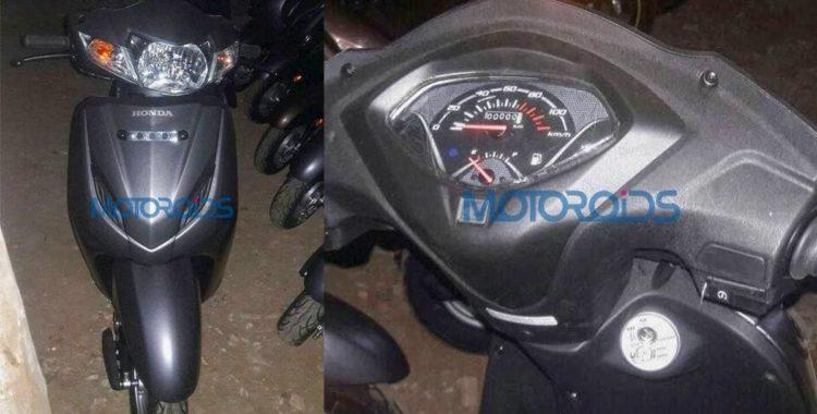 Honda Activa 4G spyshot with AHO