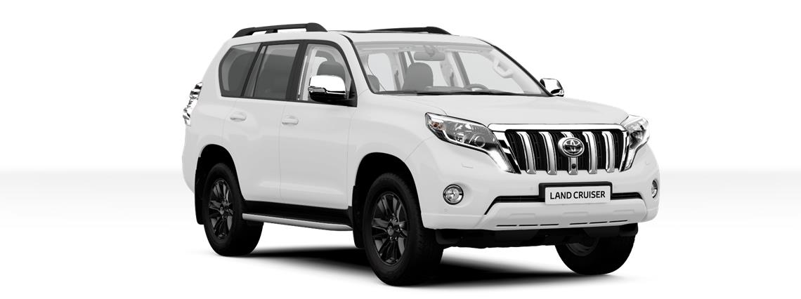 Toyota Land Cruiser Invincible X front three quarters
