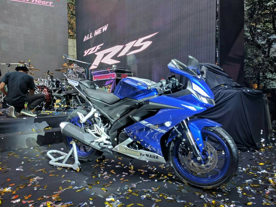 Yamaha R15 v3 has a VBox recorded top speed of 126 86 km/h