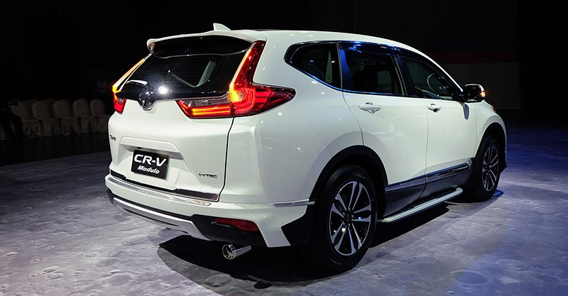 2017 Honda CR-V Modulo rear three quarter launched