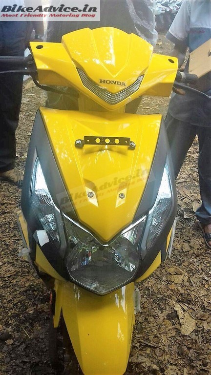 2017 Honda Dio (facelift) front second spy shot