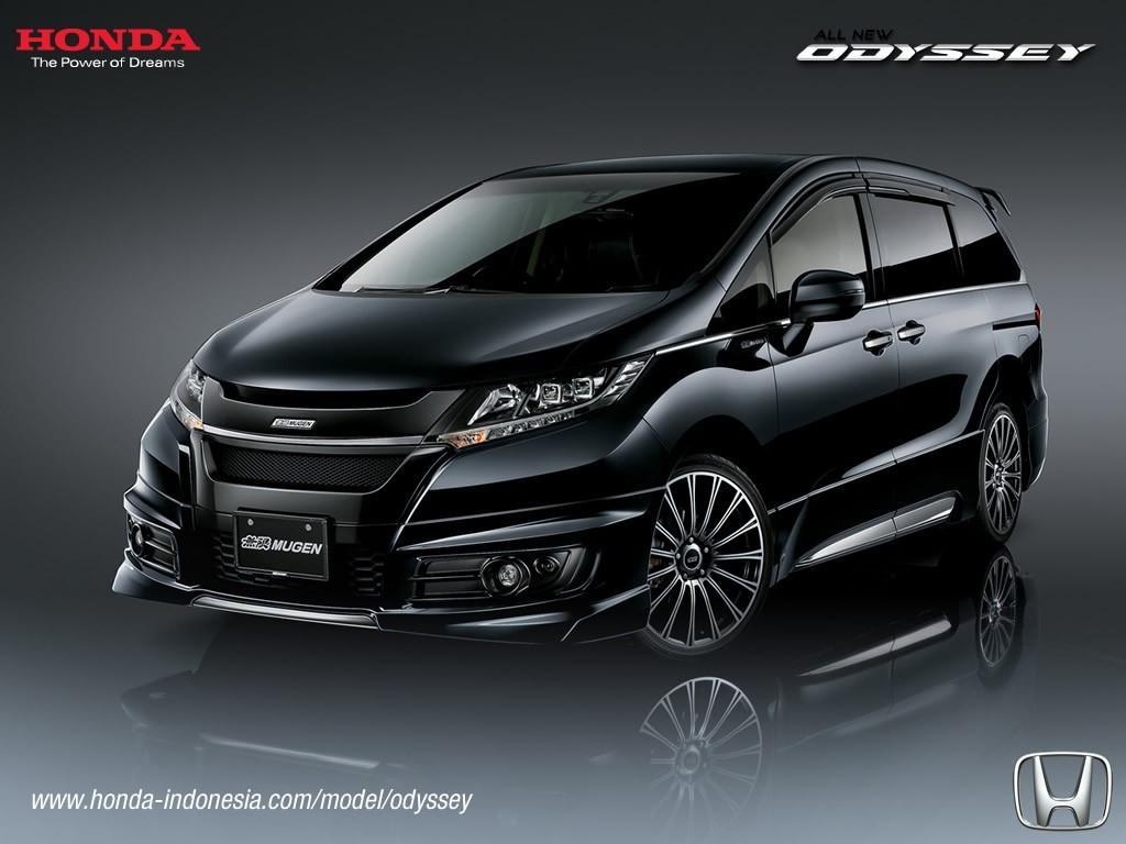 2017 Honda Odyssey Mugen (facelift) front three quarters