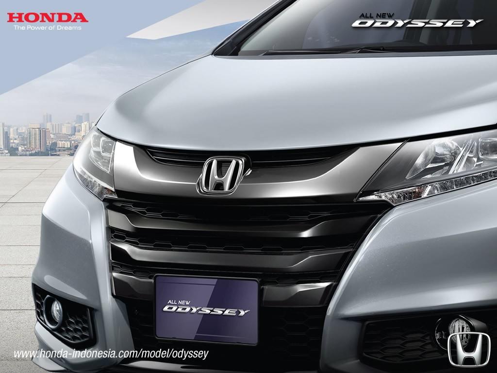 2017 Honda Odyssey (facelift) front fascia