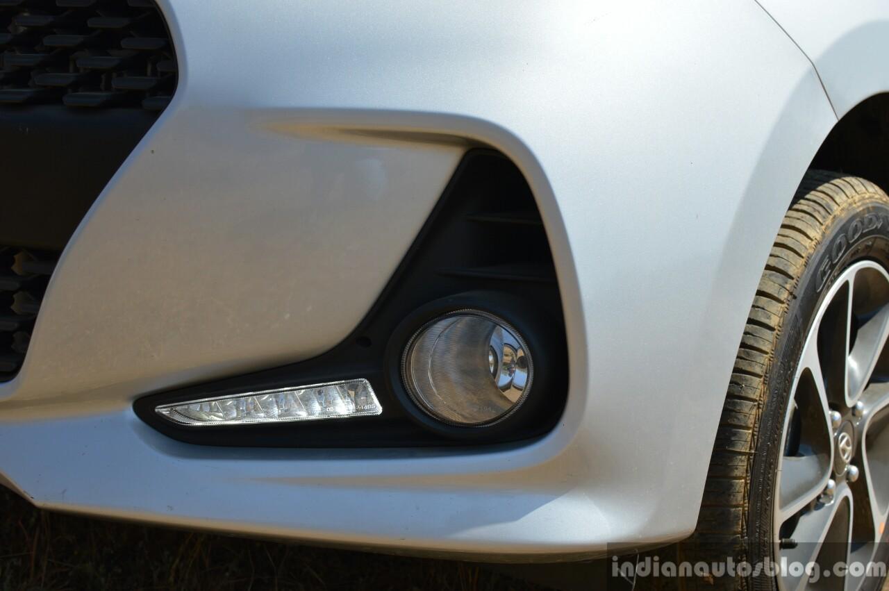 2017 Hyundai Grand i10 1.2 Diesel (facelift) foglamps Review