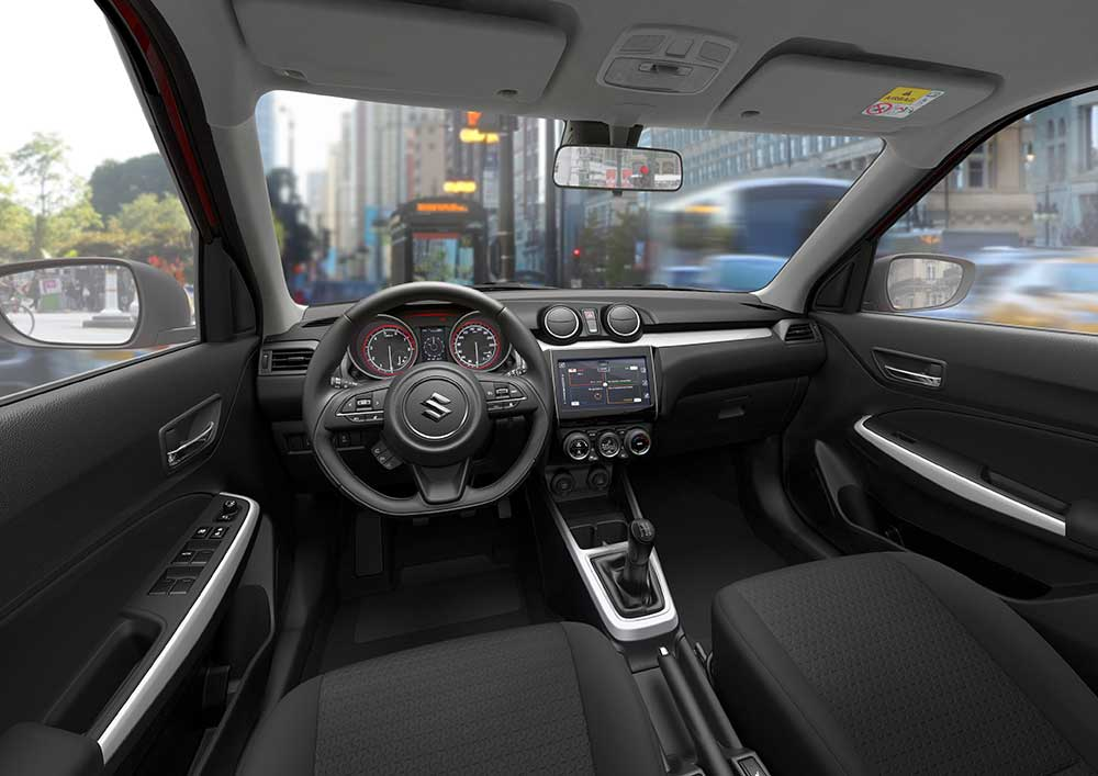 2017 (Maruti) Suzuki Swift Web Edition interior Italy