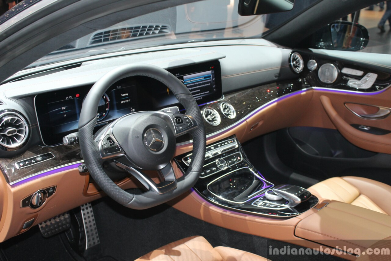 Mercedes Benz E Class Coupe 2017 Interior