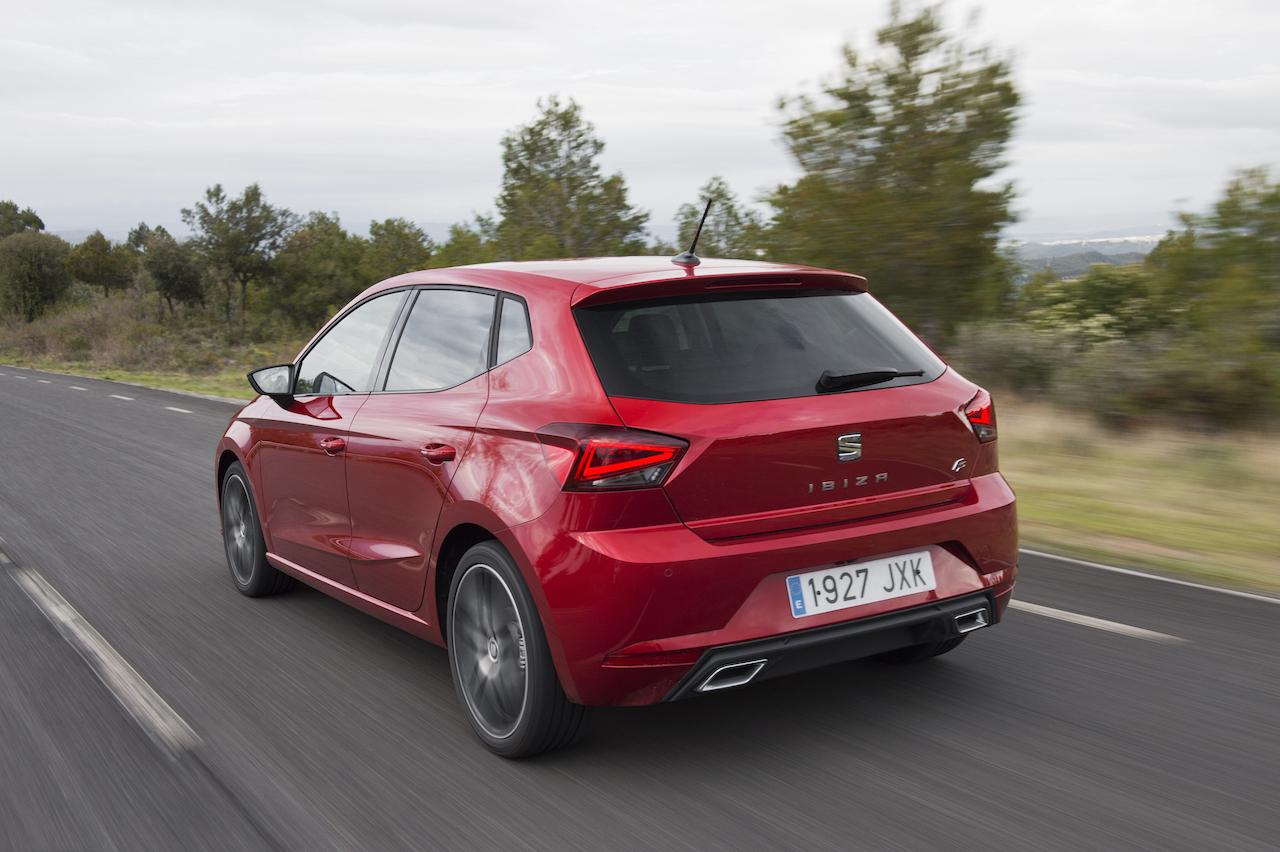 2017 Seat Ibiza rear three quarter