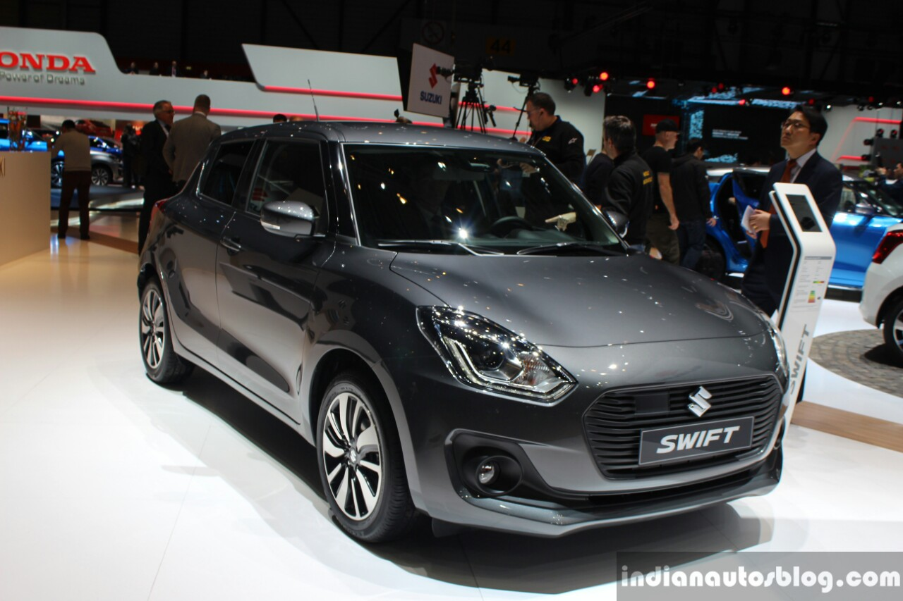 2018 maruti swift pre launch media activities to begin in january. Black Bedroom Furniture Sets. Home Design Ideas