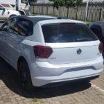 2017 VW Polo sixth-gen MQB version rear spied