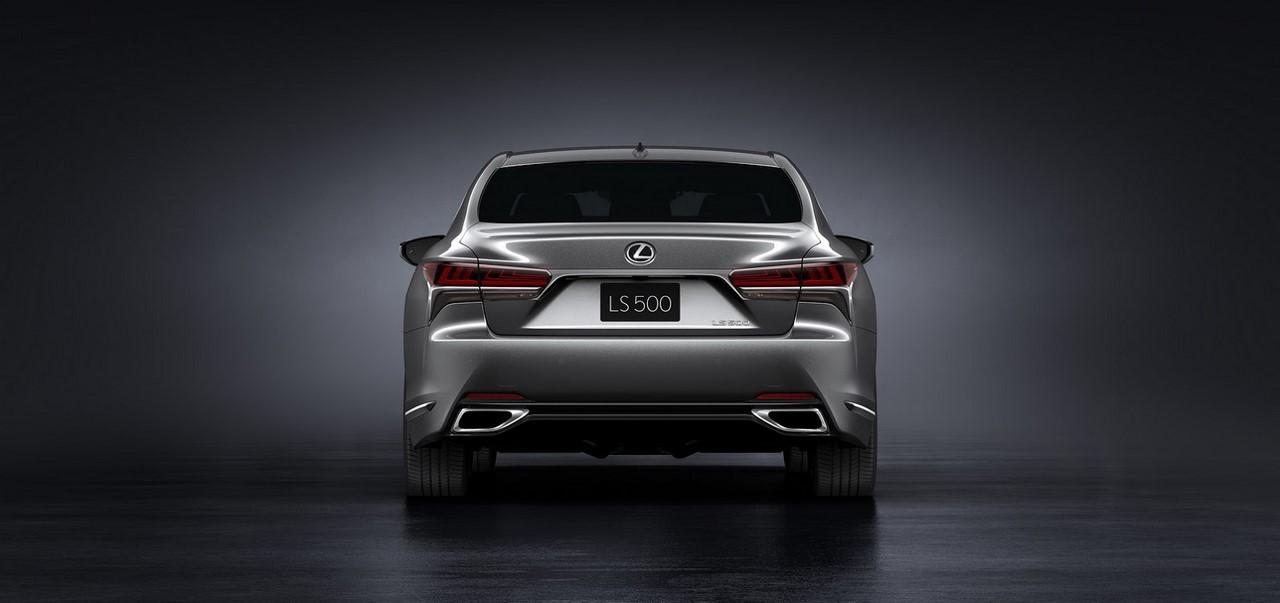 2018 Lexus LS rear