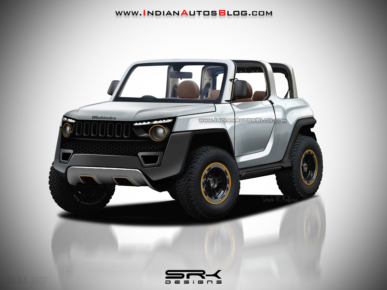 Next Gen Mahindra Thar To Be Based On An All New Platform