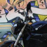 Evoke Urban S headlamp and tank