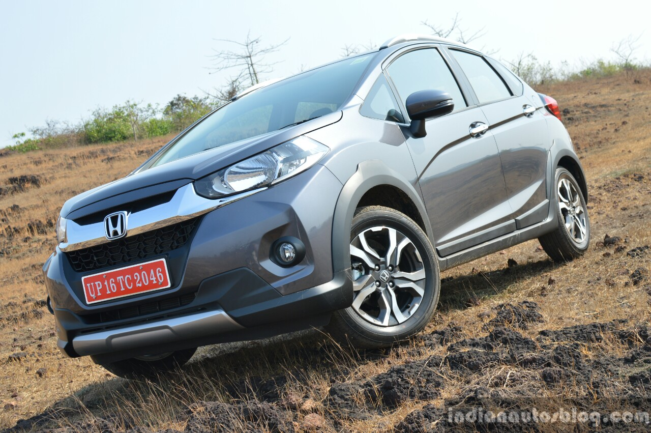 Honda WR-V front three quarter off road First Drive Review