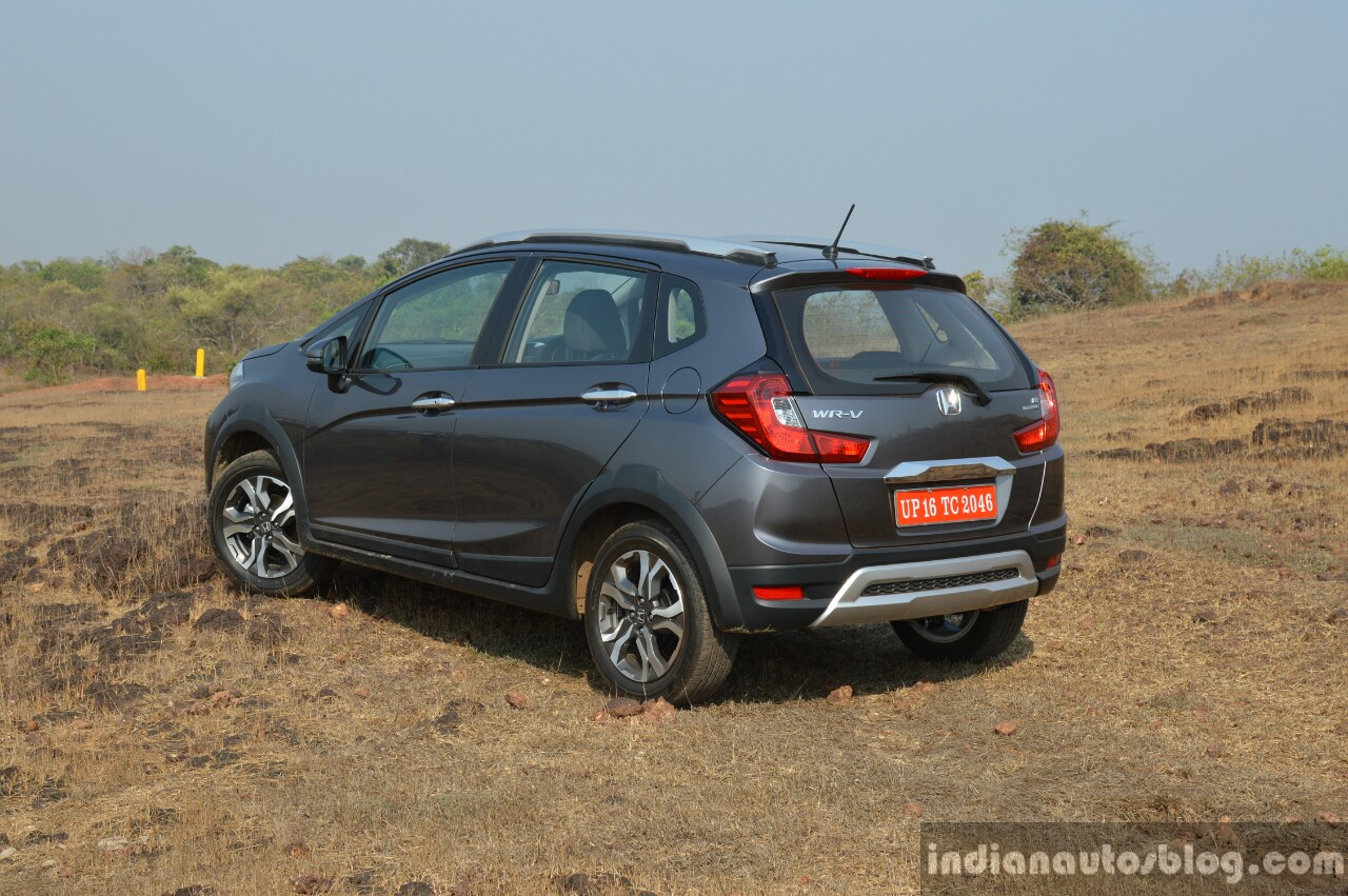 Honda WR-V rear three quarter off road First Drive Review
