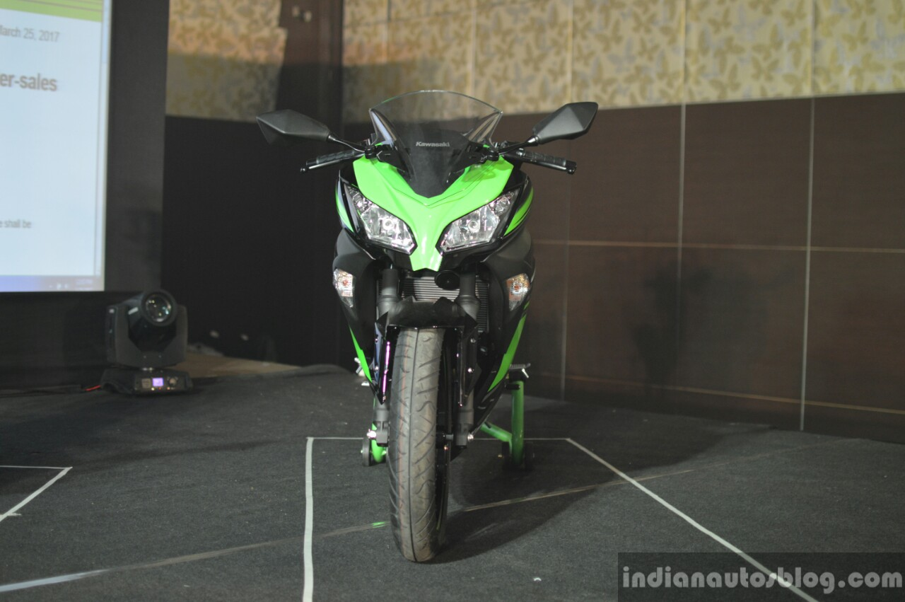 Kawasaki Ninja 300 front India launch