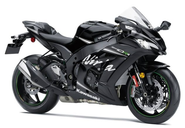 Kawasaki ZX10RR front three quarter