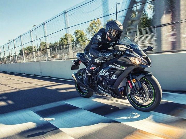 Kawasaki ZX10RR motion