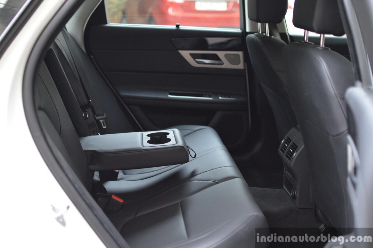 New Jaguar XF 2.0 Diesel Pure rear cabin Review