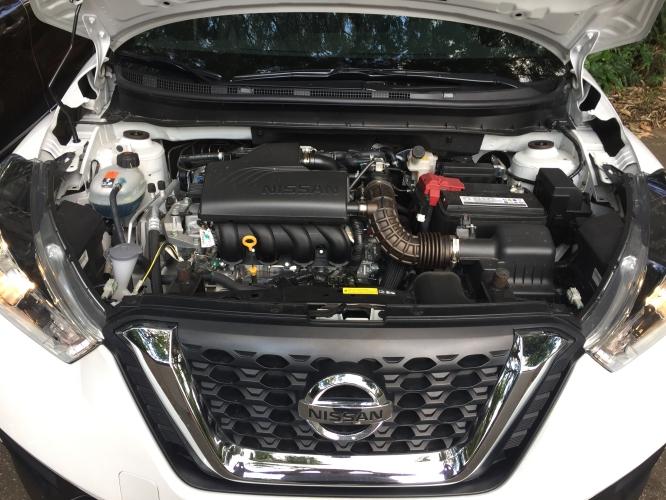 Nissan Kicks engine bay