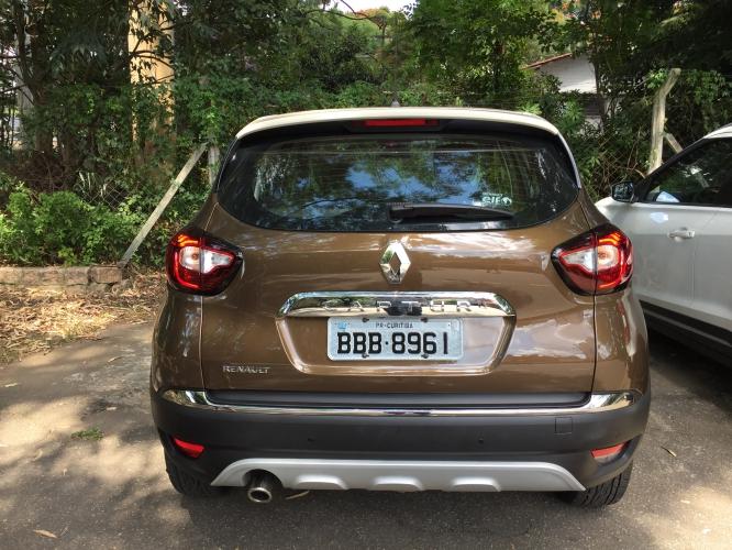 Renault Captur (Renault Kaptur) rear