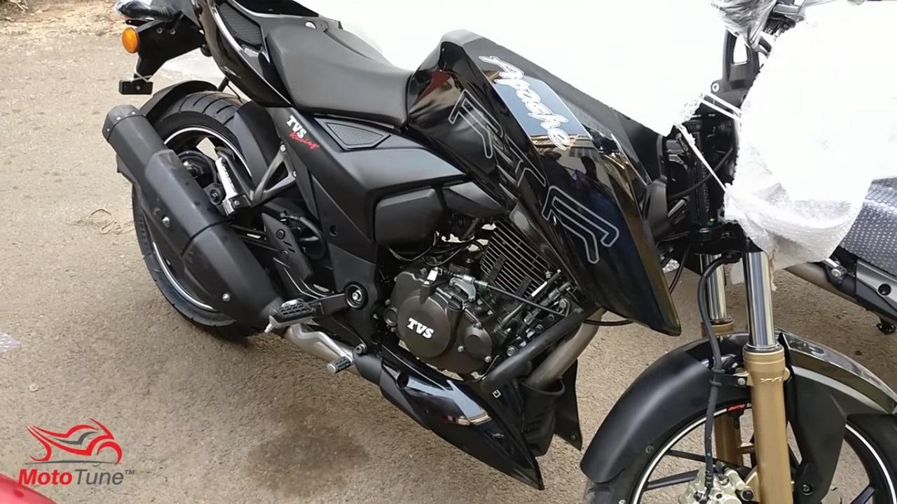 TVS Apache RTR 200 FI video