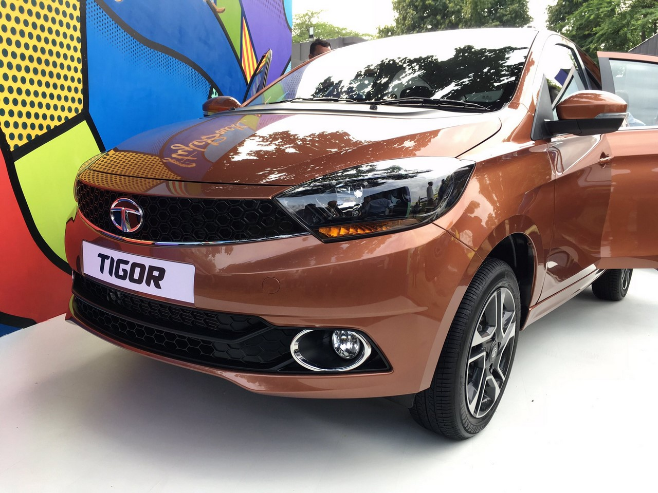 Tata Tigor at media presentation
