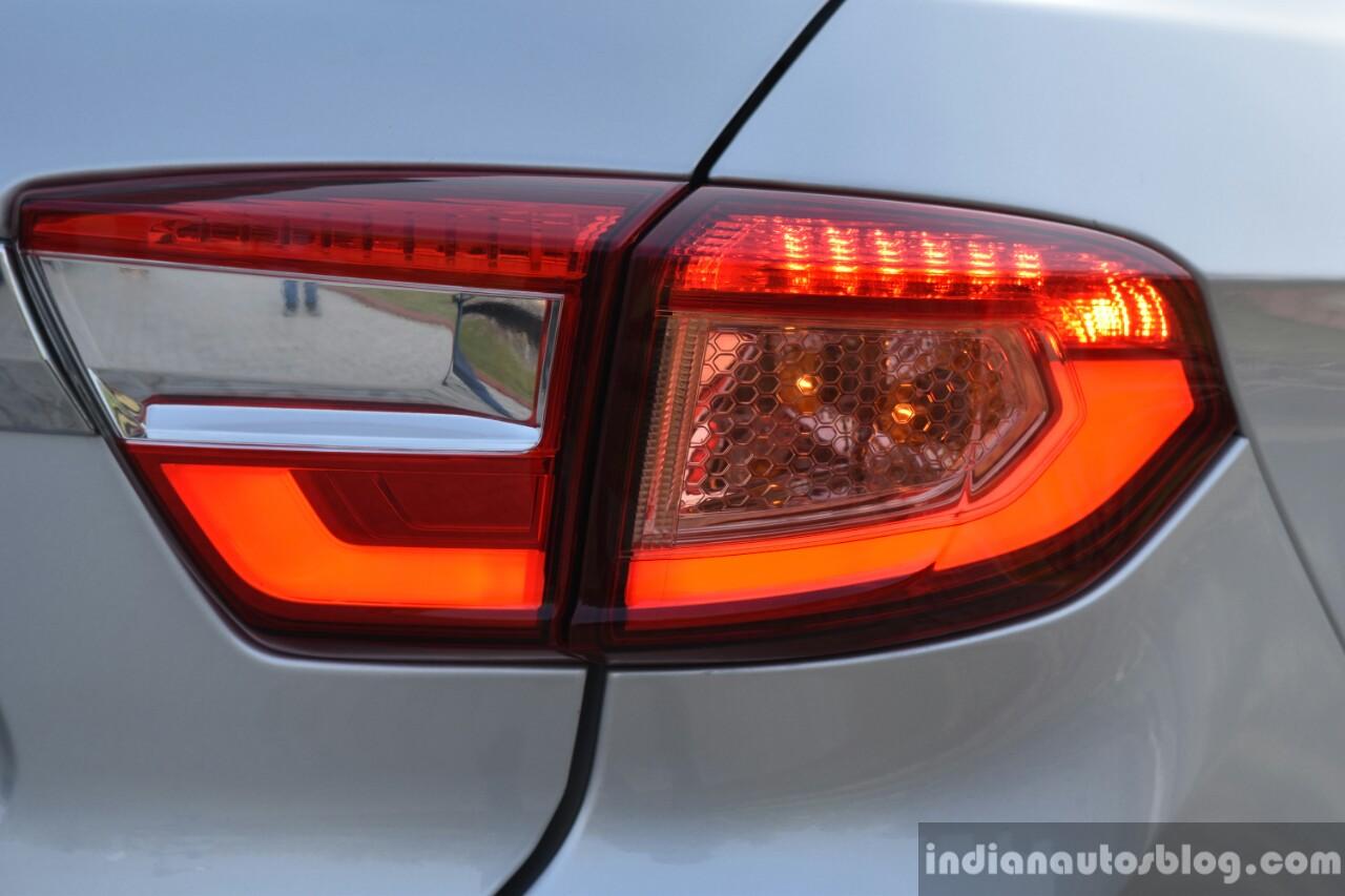Tata Tigor diesel taillamp First Drive Review