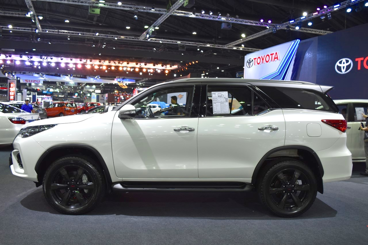 Toyota Fortuner TRD Sportivo side at the BIMS 2017