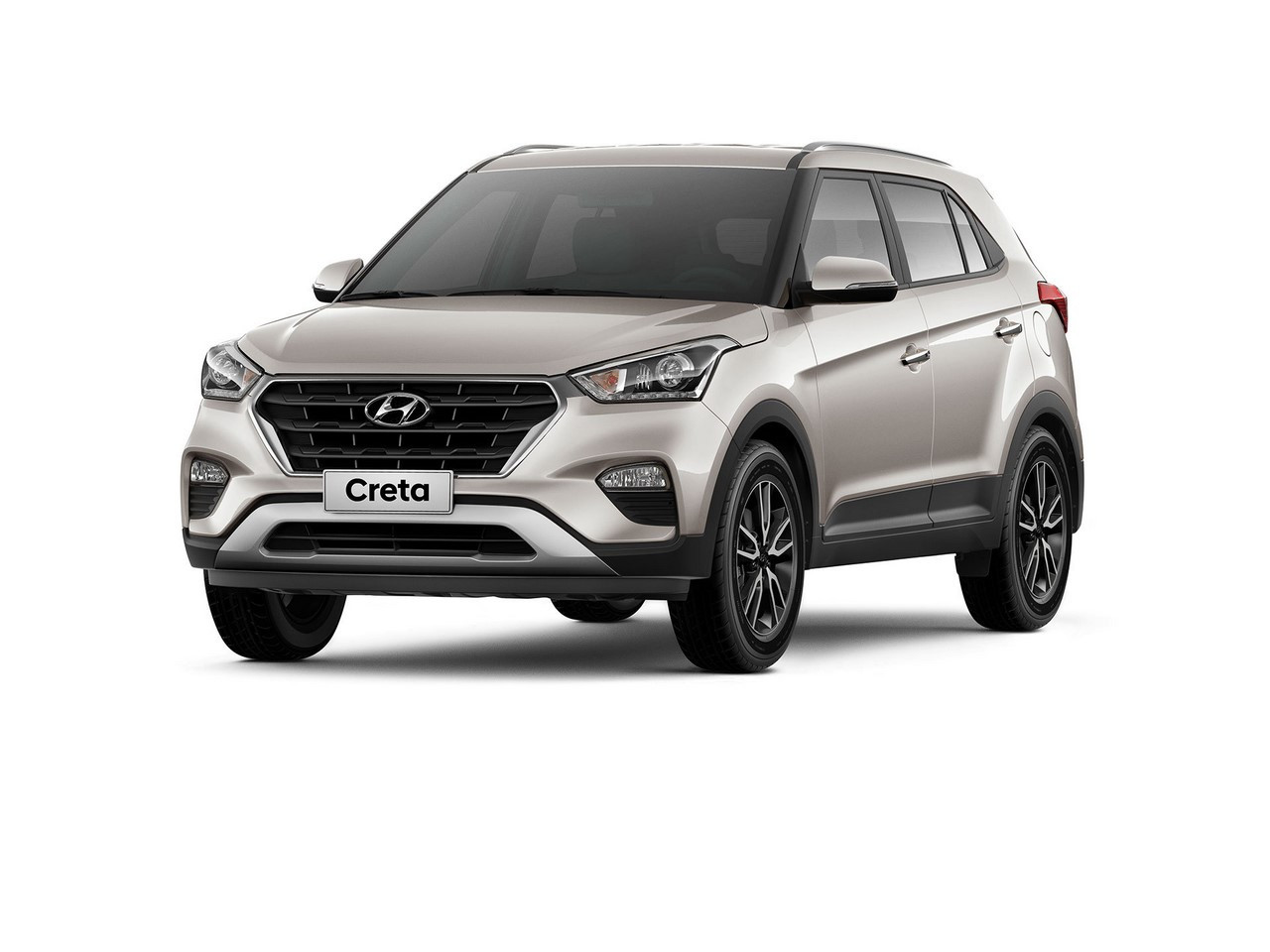 2018 Hyundai Creta facelift india front three quarters