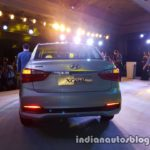2017 Hyundai Xcent India launch rear