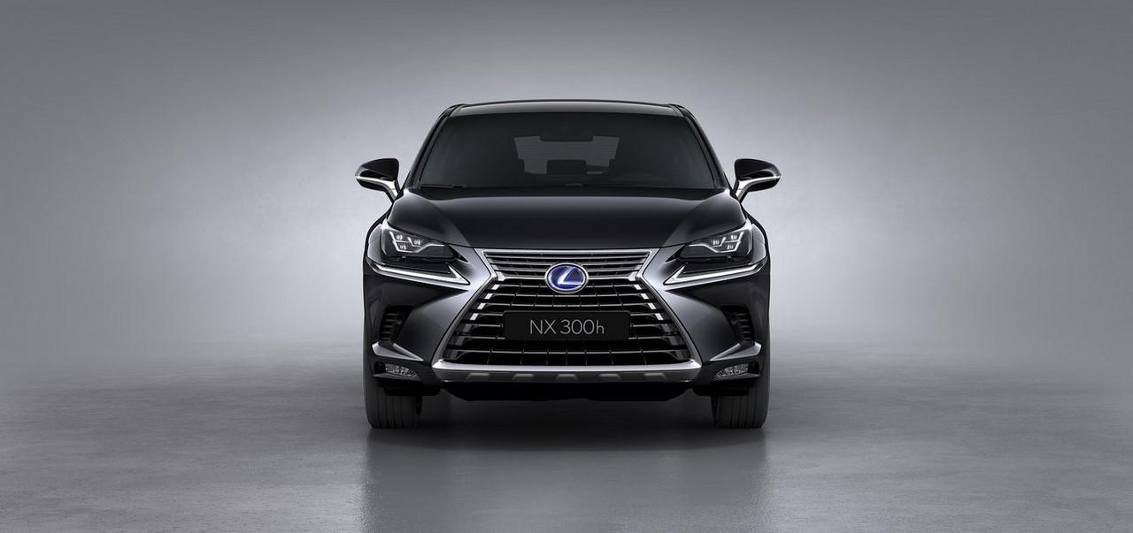 2017 Lexus NX front