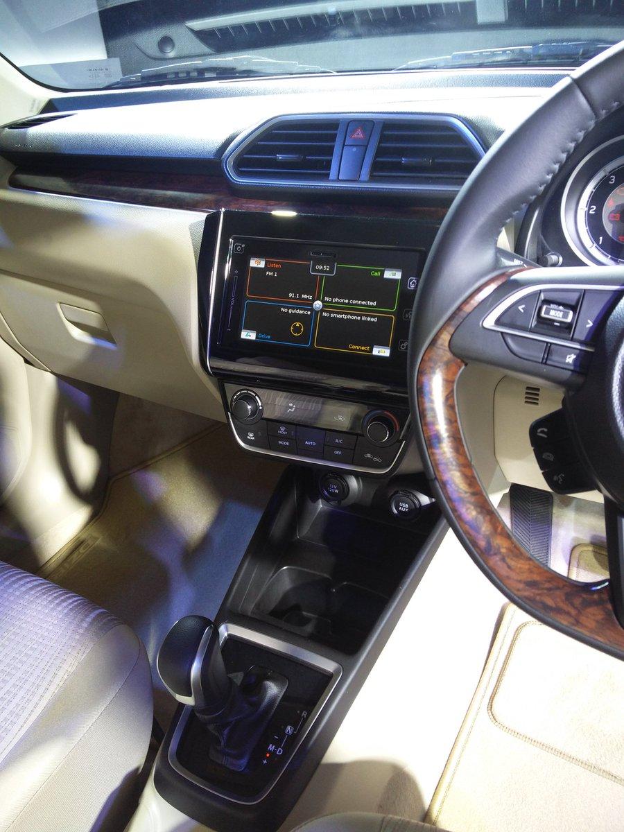 2017 Maruti Dzire SmartPlay and auto AC revealed