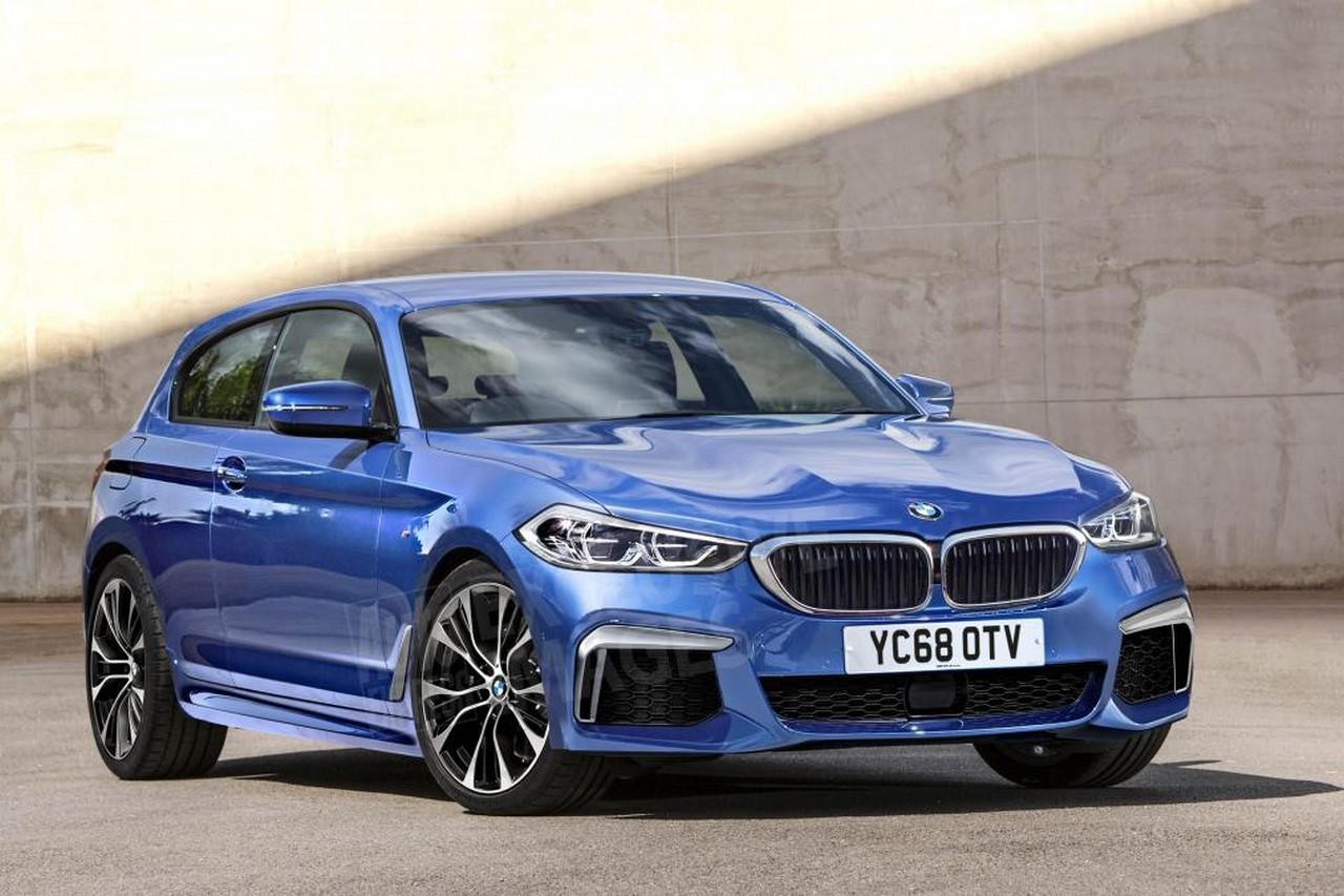2017 Bmw X5 Redesign >> 2018 BMW 1 Series 3-door illustrated