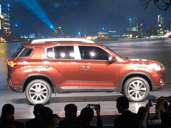 All-new Hyundai ix35 profile at Auto Shanghai 2017
