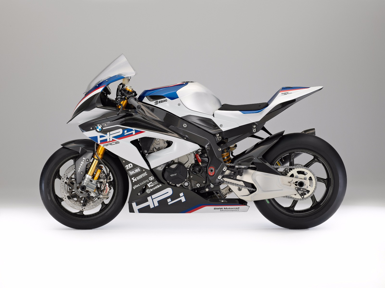 BMW HP4 Race at Auto Shanghai 2017 side left