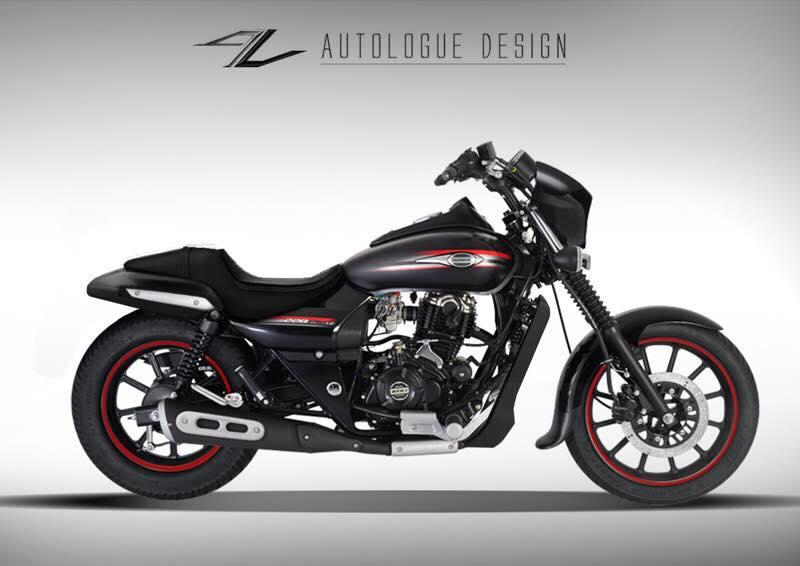 Bajaj Avenger Street 220 custoom by Autologue Designs new seat