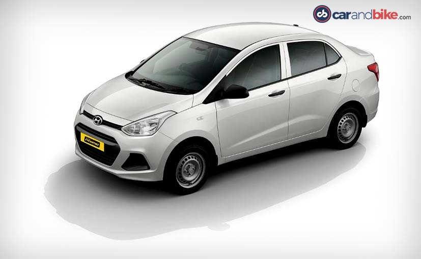 Hyundai Xcent Prime front three quarters