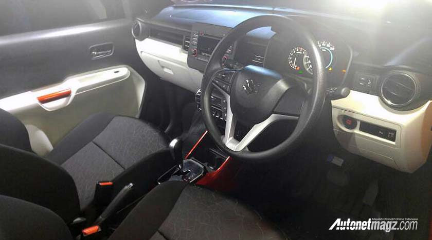 India-made Suzuki Ignis interior launches in Indonesia