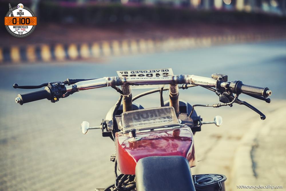 Maruti 800 Trailblazer custom motorcycle handlebar