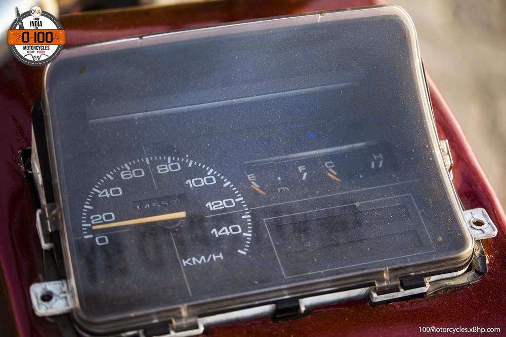 Maruti 800 Trailblazer custom motorcycle instrumentation