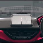Tata Nexon dashboard red